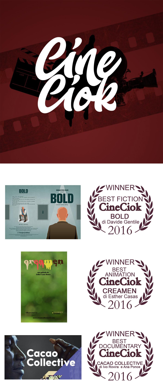 Vincitori del Cineciok | Chocomodica 2016