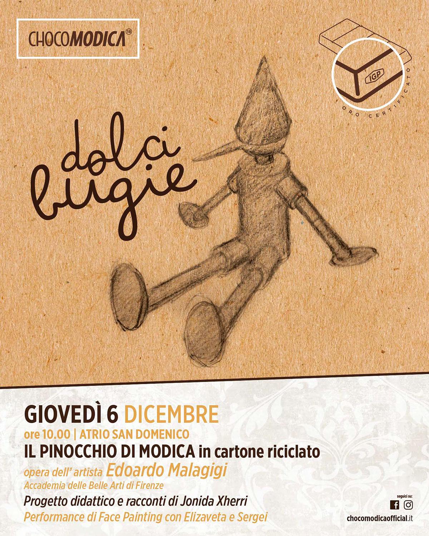 Il Pinocchio di Modica - Dolci bugie