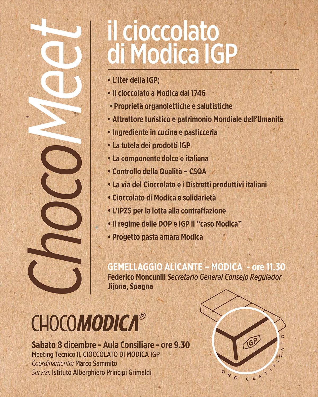 Il cioccolato di Modica IGP